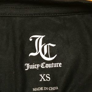 Juicy Couture Tops - Juicy Couture rhinestone logo T shirt XS